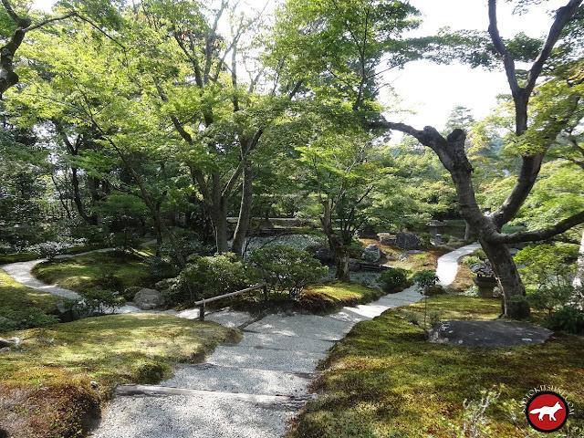 Jardin du villa bas de Shugakuh-in à Kyoto