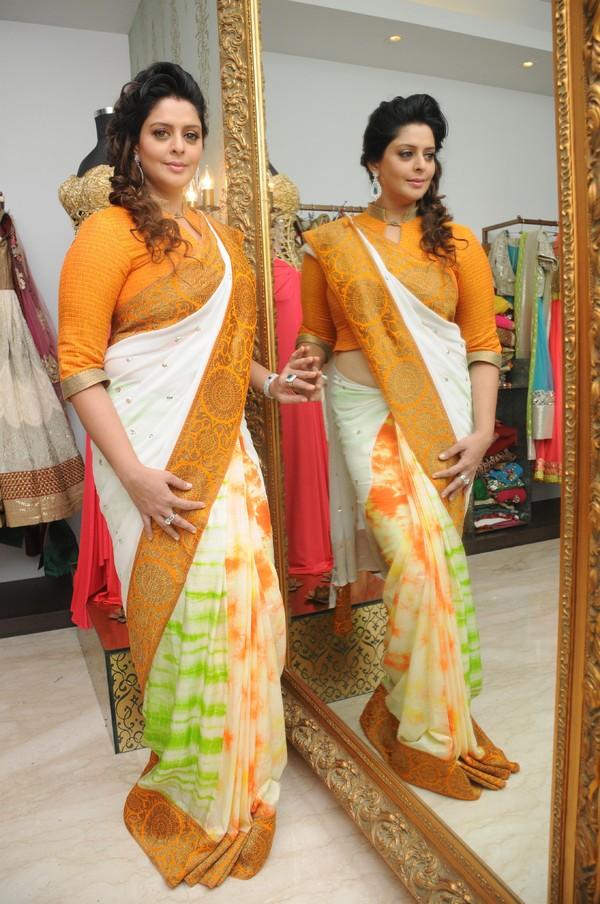 Beautiful North Indian Actress Nagma Stills In Yellow ...