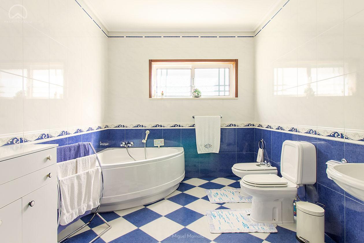 casa banho azuleijo azul
