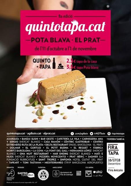 8ª edició del Quinto Tapa Pota Blava al Prat del Llobregat