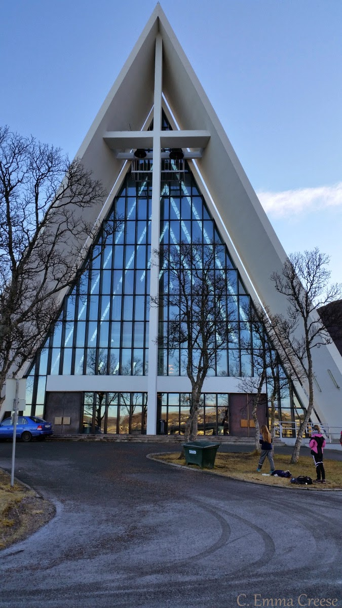The Arctic Cathedral, (Ishavskatedralen) Norway - Adventures of a London Kiwi
