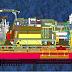 Kapal FPU Diresmikan, Produksi Gas Lapangan Jangkrik Dimulai Medio 2017