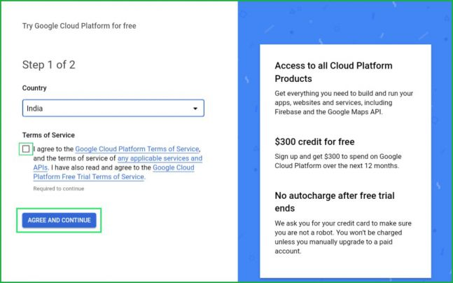 Google-cloud-terms-and-conditions