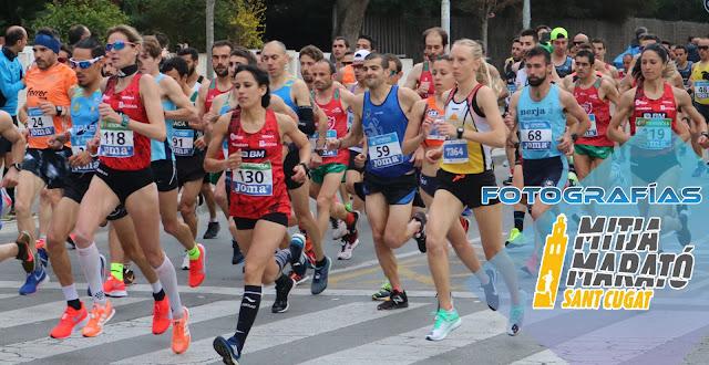 Fotografías Mitja Marató Sant Cugat 2019