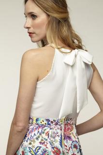 robe imprimee floral collection mariage en vue naf naf 2019