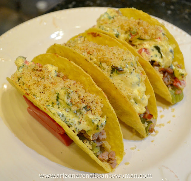 Deconstructed Jalapeño Popper Tacos