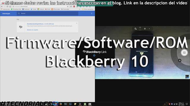 Reparar Software Blackberry Z10