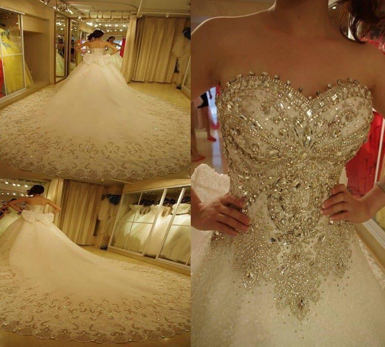 Fotos de vestidos de novia espectaculares