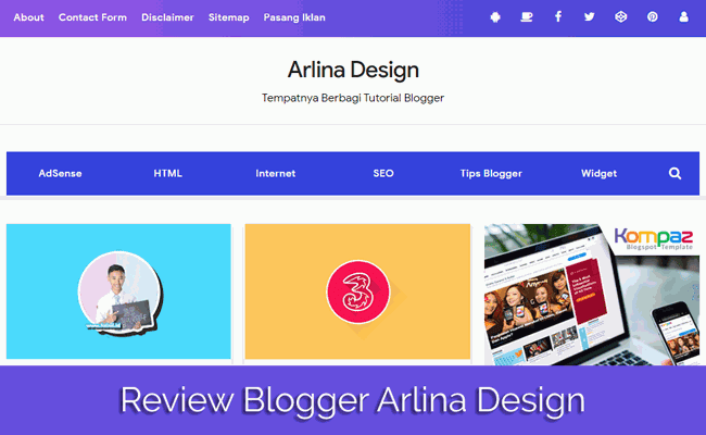 Review Blogger Indonesia Terbaik Arlina Design