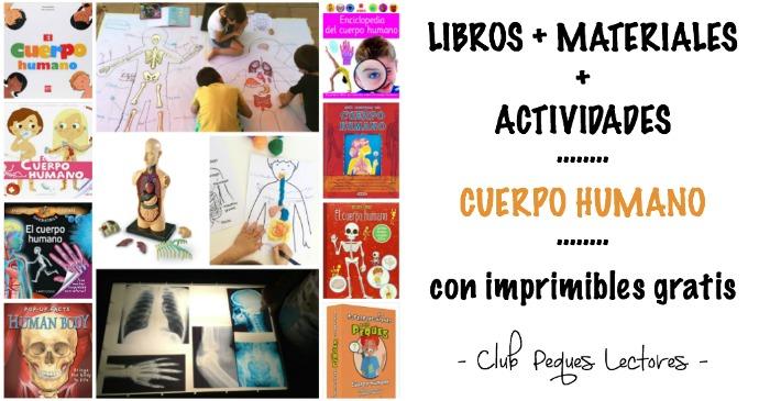 libros infantiles, materiales, actividades manualidades aprender cuerpo humano