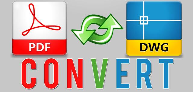 برنامج Any PDF to DWG Converter لتحويل من pdf الي dwg لوحات يمكن تعديلها بالاتوكاد