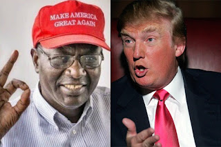 Malik Obama and Donald Trump