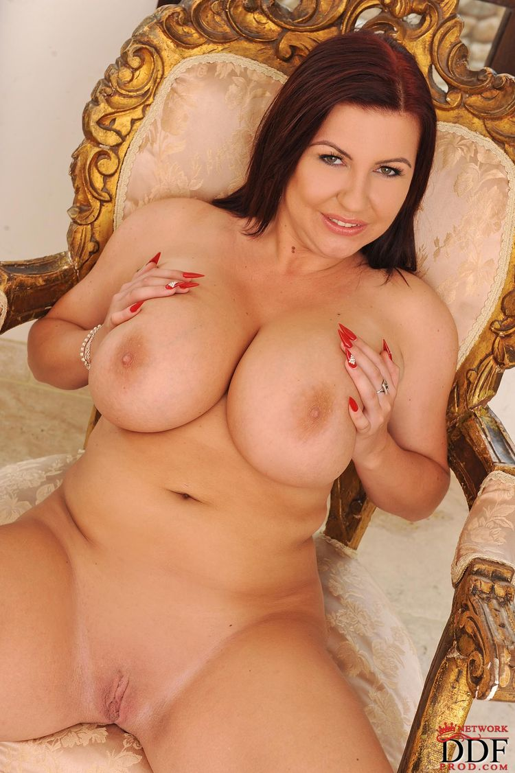 Busty nude natural Young and