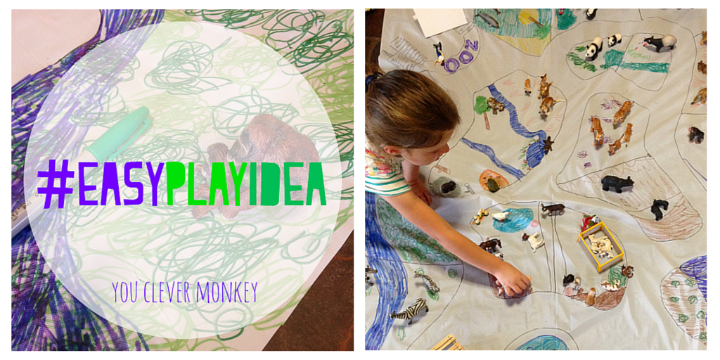 Our complete collection of #easyplayidea - using simple resources found at home, re-create these easy play invitations for your children to make and play these holidays. Visit www.youclevermonkey.com or #easyplayidea on Instagram to follow along!