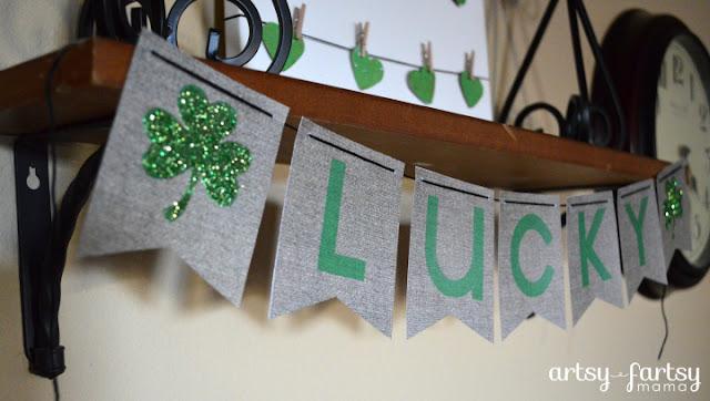 Lucky Shamrock Printable Banner