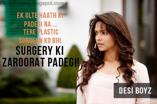 Deepika Padukone in Desi Boys Movie