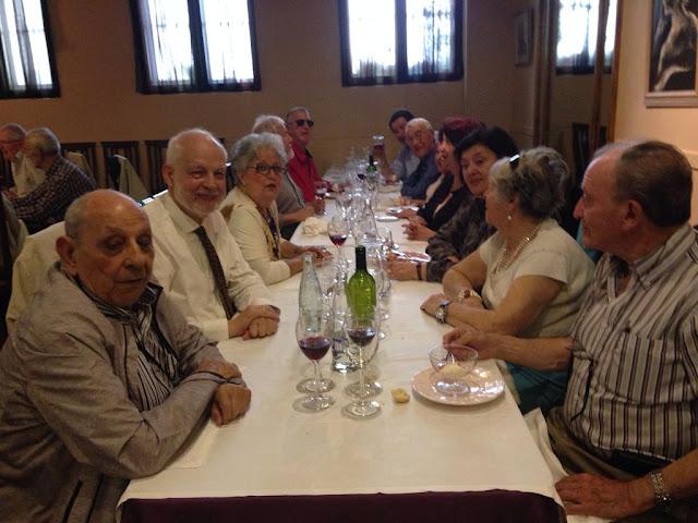 Fotografía de la reunión de preparación de la presentación del Aula Sociosanitaria