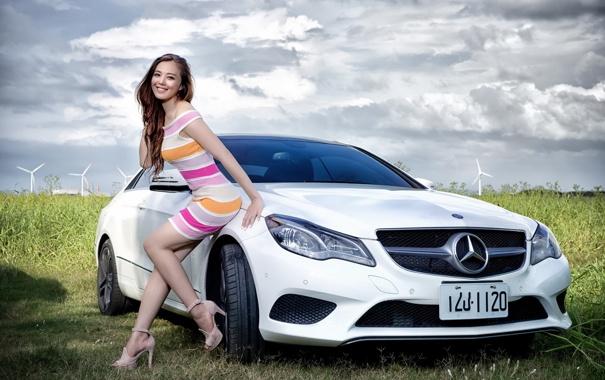 картинки девушки и машина