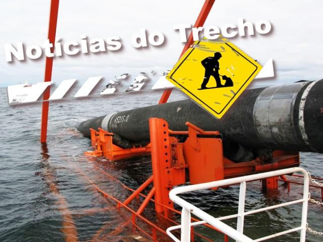 Resultado de imagem para Comperj duto submarinos
