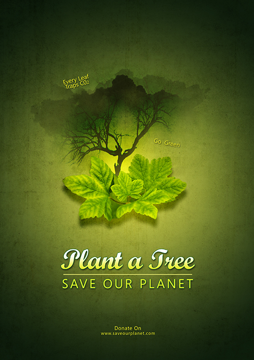 Create A Save Our Planet In Photoshop