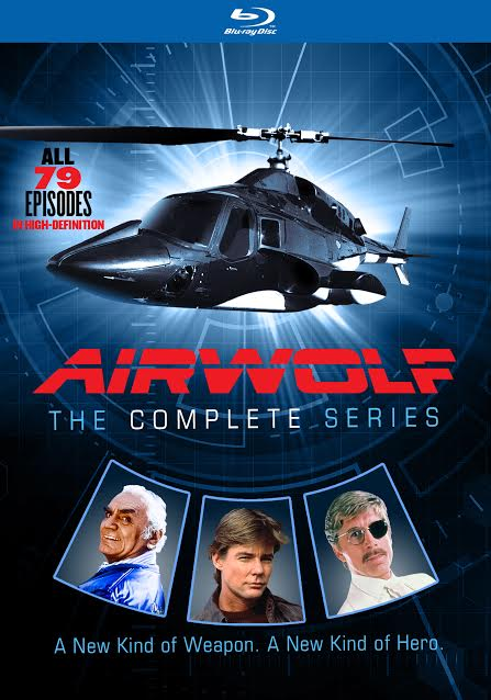 AIRWOLF- THE COMPLETE SERIES BLU-RAY COLLECTION Giveaway