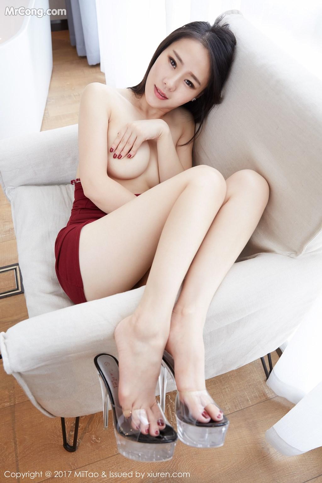 Image MiiTao-Vol.079-Yu-Wei-MrCong.com-023 in post MiiTao Vol.079: Người mẫu Yu Wei (雨薇) (54 ảnh)
