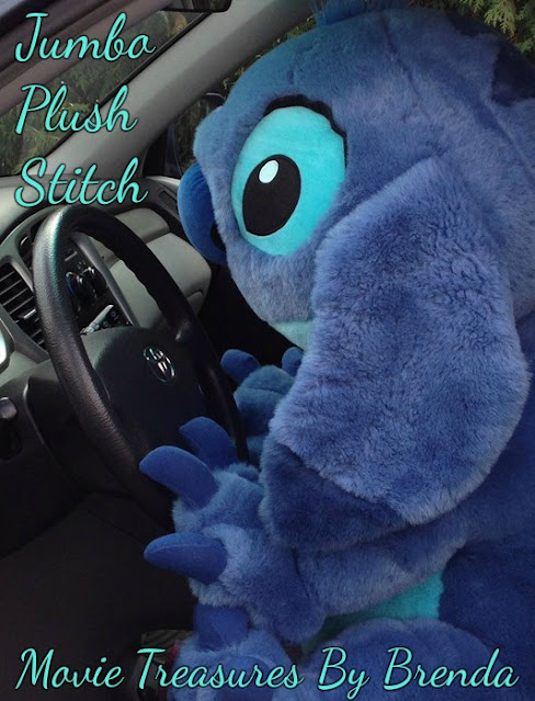 Definitely a hard-to-find version of Stitch, this plush toy from Disney's movie Lilo and Stitch is adorable!
