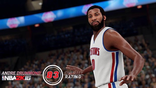 NBA 2k16 Screenshot Andre Drummond - HoopsVilla