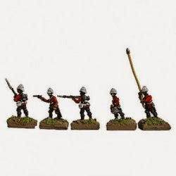 TMP15 British Infantry Brigade Zulu War.