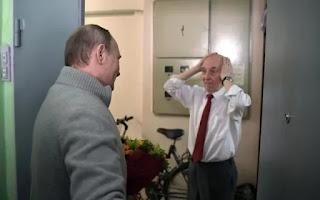 Putin con otros ex espías festejaron un cumpleaños