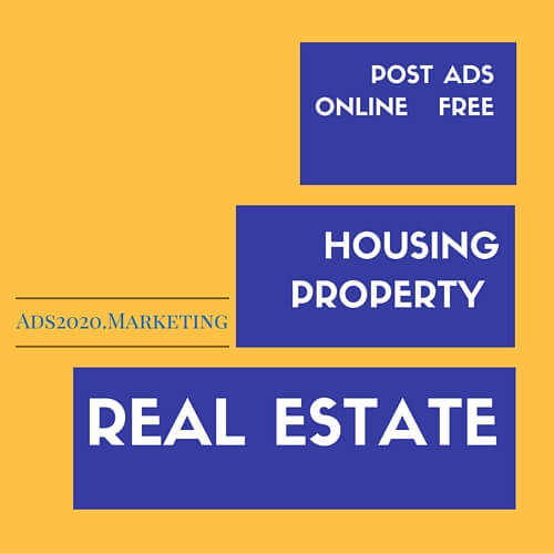 Buy Sell Ads for Apartments, Rents, Houses, properties Post free ads online for Housing Property Real Estate-Ads2020.marketing-500x500