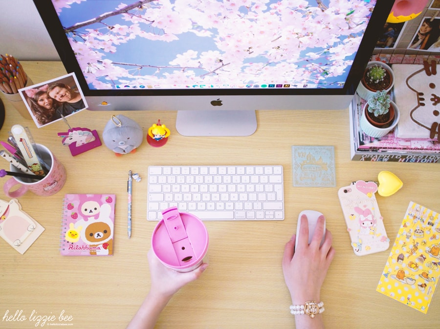 cute desk, kawaii desk accessories, kawaii box review
