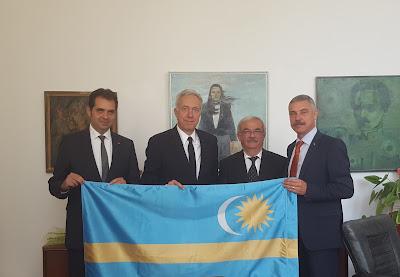 Antal Árpád, Hans Klemm, Kató Béla, Tamás Sándor, Székelyföld, Románia, diplomácia, székely zászló, nemzeti jelképek,