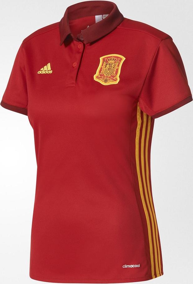 Adidas lança as camisas da seleção feminina da Espanha - Show de Camisas 74bd015b7d84c