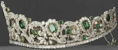 Duchess of Angouleme Emerald Tiara France Bapst