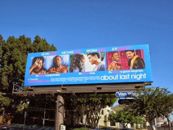 About Last Night 2014 movie remake billboard
