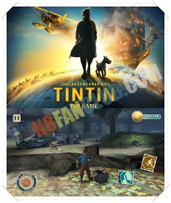 Adventures of TIN TIN HD for Nokia N8, C7, C6-01, E7, X7