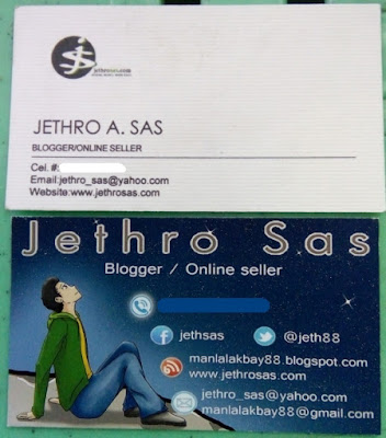 My 2 Business Cards