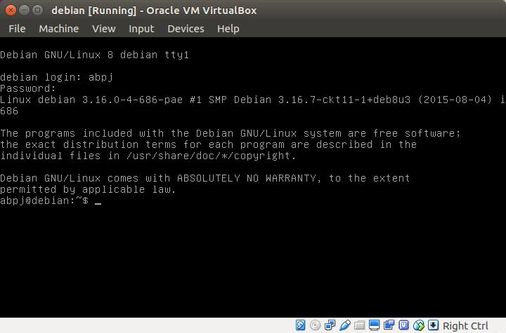 Done Debian