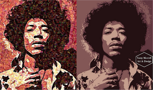 Jimi-Hendrix-arte-digital-guitar-player-art-by-yamy-morrell