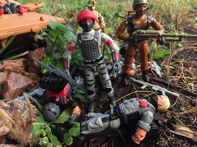 2017 Sightline, Gary Head, Gary Goggles, Red Laser's Army, Bootleg, Factory Custom, 1997 Zap, 1985 Mauler, 1984 Roadblock, Viper, Stinger Viper, Eel Viper, Recondo