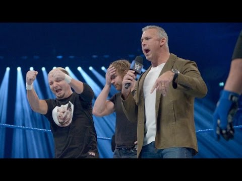 James Ellsworth Dean Ambrose Shane McMahon Team SmackDown Live Survivor Series WWE
