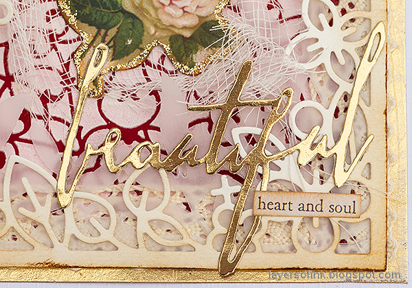 Layers of ink - Vintage Valentine's Card Tutorial by Anna-Karin Evaldsson.