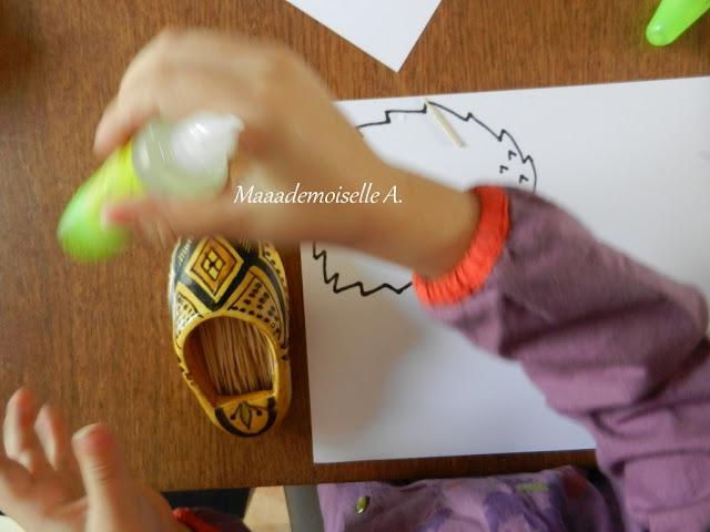 || Activité/DIY : Le hérisson sous son tas de feuilles (L'art est un jeu d'enfant # 2)