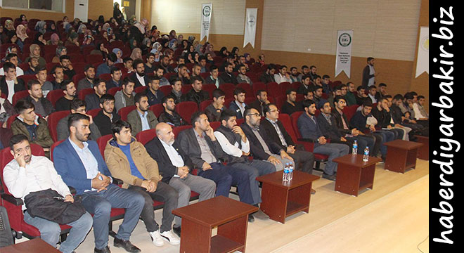 Dicle Üniversitesinde Bilge Kral Aliya İzzetbegoviç'in Davası ve Fikriyatı konferansı