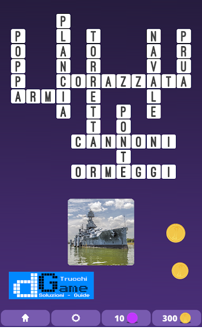 Soluzioni One Clue Crossword livello 4 schemi 12 (Cruciverba illustrato)  | Parole e foto