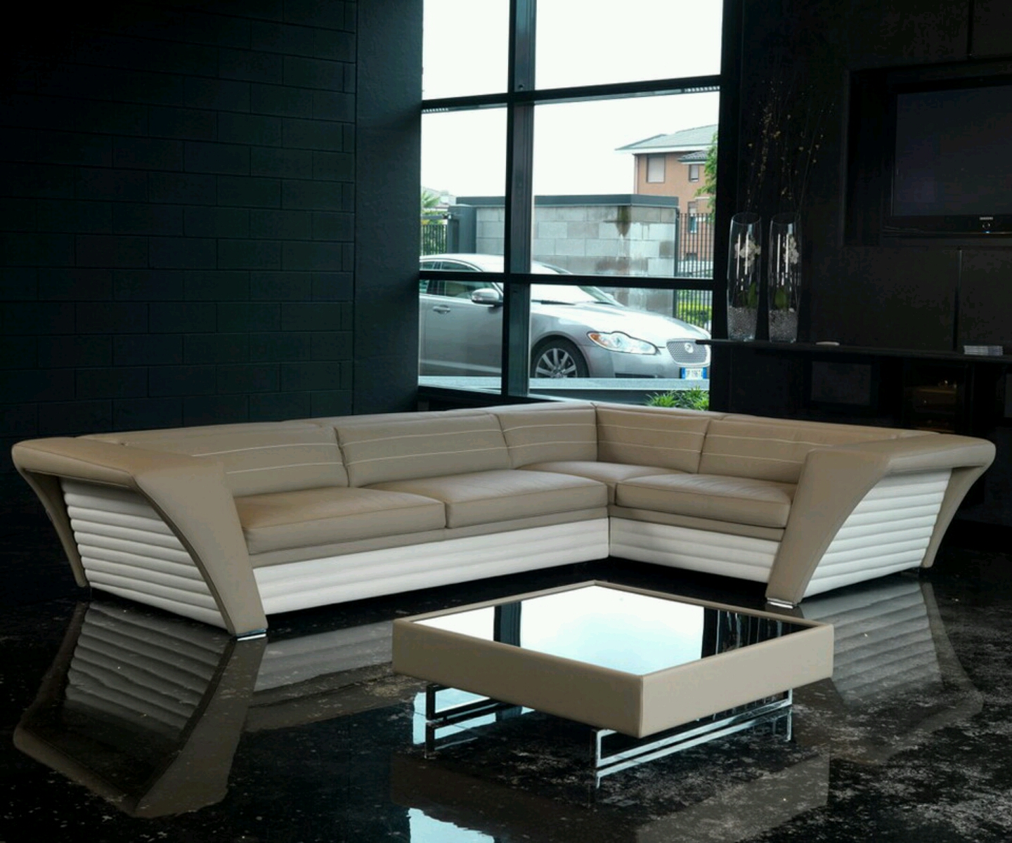 Modern sofa new designs an interior design for Three room set design