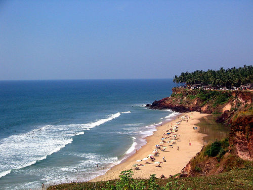 Varkala Papanasam Beach in Kerala India | Hindu Devotional Blog
