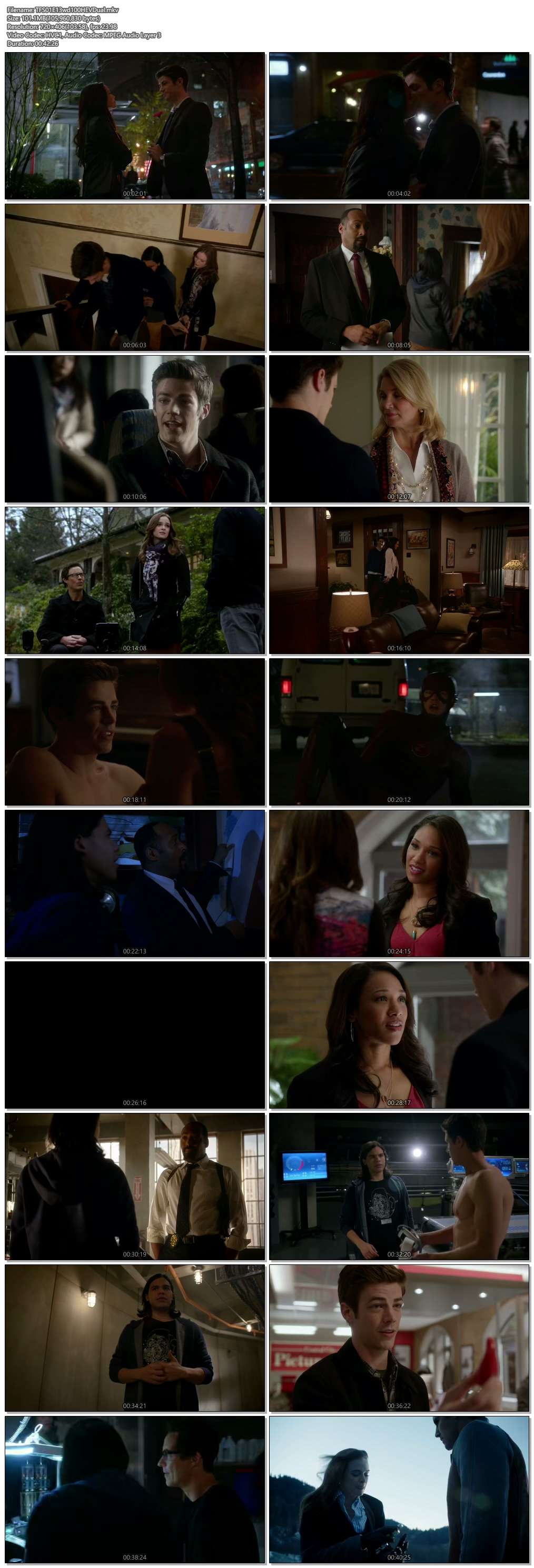 Screenshots Of Hindi Dubbed Show The Flash 2015 Season 01 Episode 13 300MB 720P HD