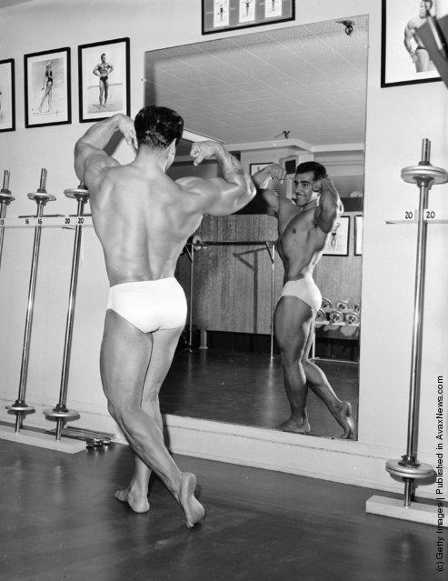 Photos of Bodybuilders in the Past ~ vintage everyday Рег Парк В Старости